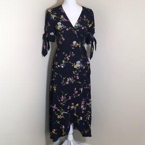 Oasis Wrap Midi Dress NWT, Size 12